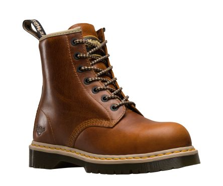 bfda6a9a473 Dr Martens Icon 7B10 Steel Toe Safety Boots, UK 8, Resistant To Base, Fat,  Oil, Petrol, US 8