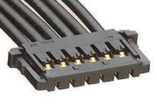 15132 Series Number Wire to Board Cable Assembly 1 Row, 6 Way 1 Row 6 Way, 150mm product photo