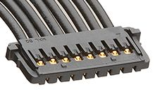15132 Series Number Wire to Board Cable Assembly 1 Row, 10 Way 1 Row 10 Way, 450mm product photo