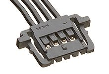 15131 Series Number Wire to Board Cable Assembly 1 Row, 4 Way 1 Row 4 Way, 450mm product photo