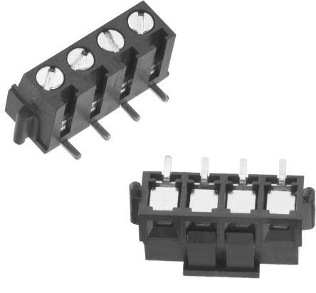 Wurth Elektronik WR-TBL 7097, 5mm Pitch, 5 Way, 1 Row, Horizontal PCB  Header, Surface Mount