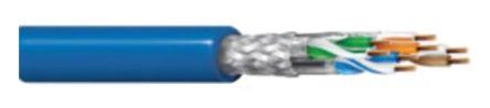 Belden Grey Cat7a Cable, LSZH, Low Smoke Zero Halogen (LSZH), 75 V 500m Length