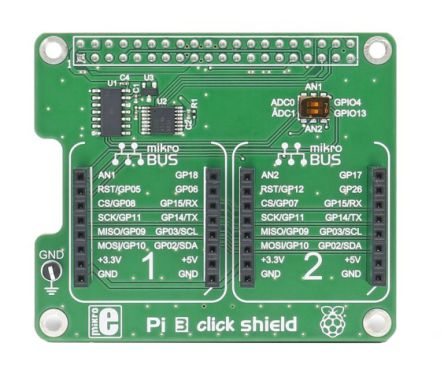 Raspberry Pi click shield