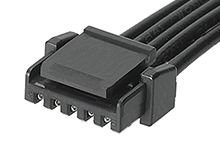 Molex Micro-Lock PLUS OTS 45111 Series Number Wire to Board Cable Assembly 1 Row, 5 Way 1 Row 5 Way, 100mm