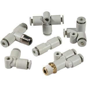 Bulkhead Connector, Push In 6 mm, M14 x 1 Male BSPPx6mm product photo