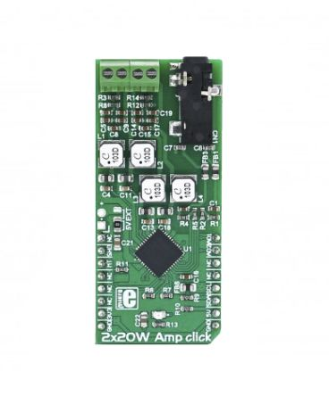 MikroElektronika 2 x 20 W Amp Click Audio Development Board MIKROE-2779