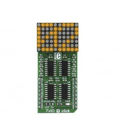 MikroElektronika 7 x 10 Y Click 8 bit