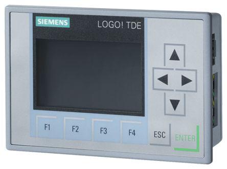 Siemens LOGO! 8.2 Logic Module, 12 → 24 V dc With Display