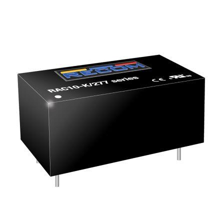 Recom, 10W Encapsulated Switch Mode Power Supply, 15V dc, Encapsulated