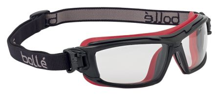 Bolle ULTIM8 Anti-Mist Coating, Scratch Resistant Clear Polycarbonate (PC) Safety Goggles