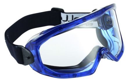 Bolle SUPERBLAST Anti-Mist Coating, Scratch Resistant Clear Polycarbonate  (PC) Safety Goggles