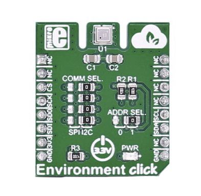 MikroElektronika Environment Click Temperature & Humidity Sensor Add On Board MIKROE-2467