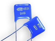 RS PRO 100pF Mica Capacitor 500V dc ±1% Tolerance Flat