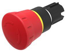 EAO Series 45 E-Stop - Twist to Reset, 40mm, Mushroom Head