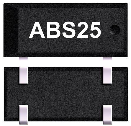 Abracon 32.768kHz Crystal Unit ±30ppm SMD 4-Pin 8 x 3.8 x 2.5mm