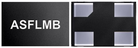 Abracon 50MHz MEMS Oscillator, 4-Pin QFN, ASFLMB-50.000MHZ-LC-T