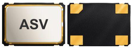 Abracon, 25MHz Clock Oscillator, ±20ppm HCMOS, TTL, 4-Pin SMD ASV-25.000MHZ-EJ-T