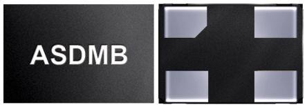 Abracon 25MHz MEMS Oscillator, 4-Pin QFN, ASDMB-25.000MHZ-LC-T