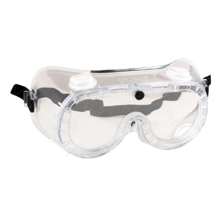 RS PRO Anti-Mist Coating Clear Safety Goggles