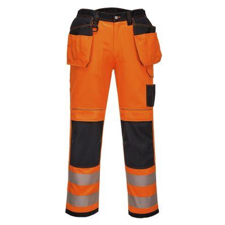 Orange Hi-Vis Unisex Abrasion Resistant Trousers product photo