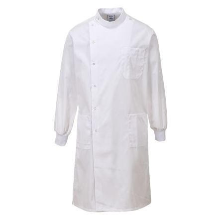 HOWIE COAT TEXPEL FINISH WHITE SIZE S
