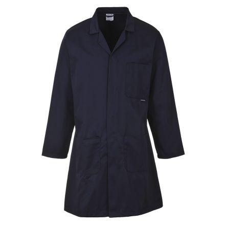 RS PRO Navy Men Reusable Lab Coat, M