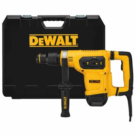DeWALT D25481K-GB 40mm SDS-Max Hammer Drill, 540rpm, 230V, 1.05kW, 5.9kg, Type G - British 3-pin