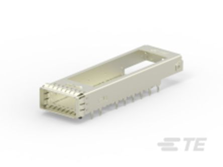 TE Connectivity CFP4 Series Straight Cage Assembly 0.6mm Pitch Press-In Termination