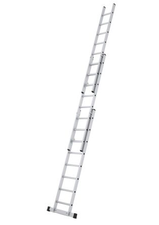 Extension Ladder 3 x 10 steps Aluminium 6.65m open length product photo