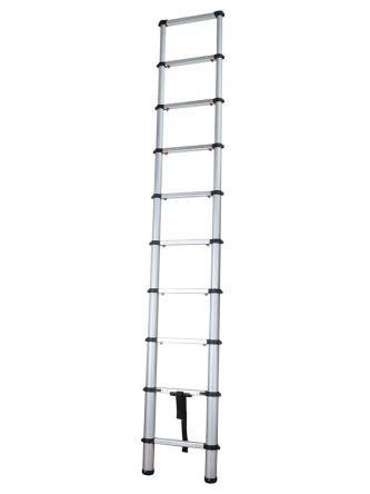 Telescopic Ladder Aluminium 9 steps 2.9m open length product photo