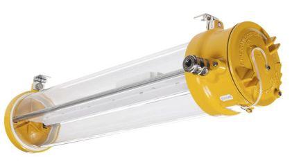 1 x 56 W, Tubular LED Fixture Hazardous Area Light Fitting, 1, 2, 21, 22, LED, Temp T6, 100 → 254 V ac