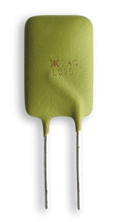 0.75A Hold current, Radial Resettable Wire Ended Fuses, 240 V ac, 265 V ac product photo