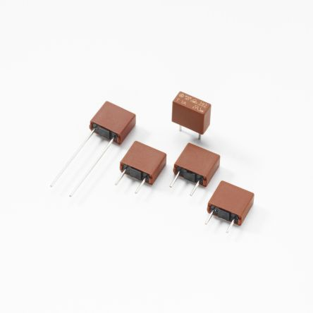 Littelfuse 1A PCB Mounts for 8.5 x 4 x 8mm, 250V