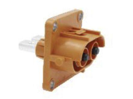 Konektory pro elektrická vozidla HVSLS800022A1H6 2 kontakty 180A Samec (konektor) Samice (kontakt) přímý