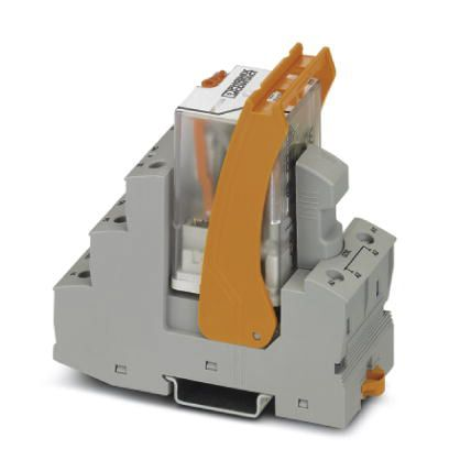 120V ac DIN Rail Interface Relay Module, DPDT, Screw product photo
