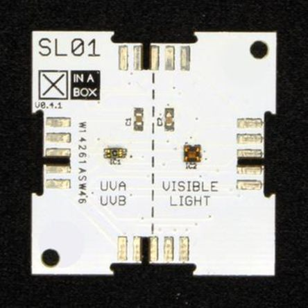 XinaBox SL01, UVA / UVB Light Sensor Module for TSL4531, VEML6075