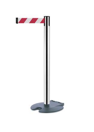 Tensator Chrome Barrier, Retractable 2.3m