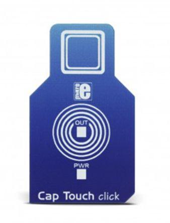 MikroElektronika, Cap Touch Click Capacitive Touch Sensor mikroBus Click Board for AT42QT1010 - MIKROE-2888