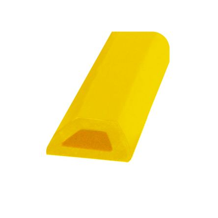 RS PRO Yellow Corner Protector, 10000mm by 20mm