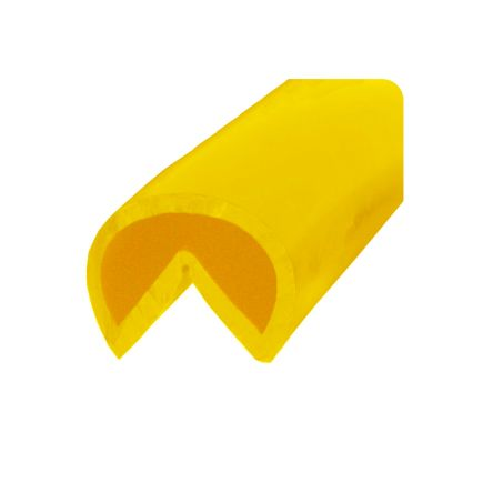 RS PRO Yellow Corner Protector, 10000mm by 40mm