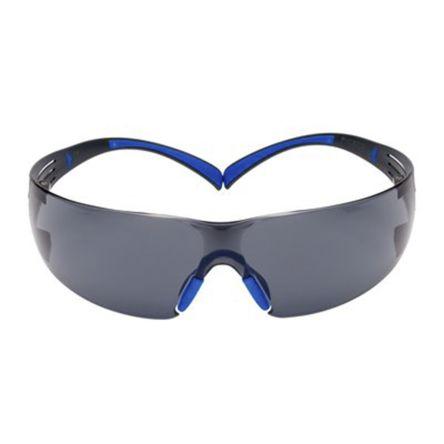 Safety Glasses Blue/Grey frame Anti-Fog