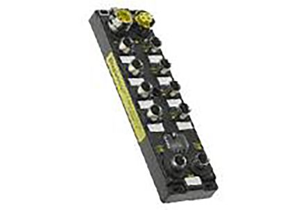 112095 Series, M12 Female (Bus Input), M12 Female (I/O Connector), M12 Female(Bus Output) product photo