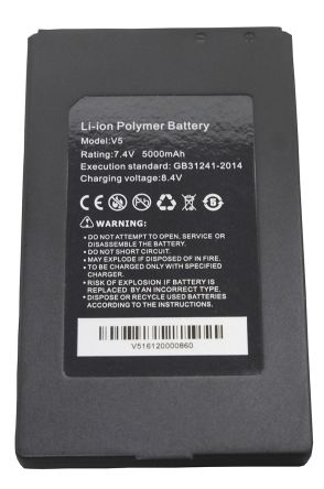 Ideal Networks R171052 Replacement Battery for R171000 CCTV Camera Tester