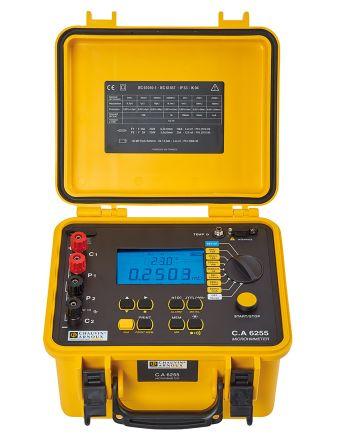 Model CA 6255 Micro Ohm Meter, Maximum Resistance Measurement 2500 O product photo