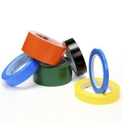 471 Yellow Vinyl Tape, 19mm x 33m, 0.14mm Thick product photo