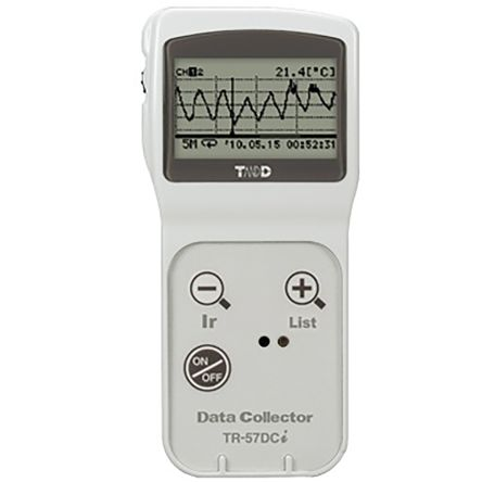 T&D Company TR-57DCi Data Logger, For Use With RTR-5 Series, TR-5 Series, TR-5i Series, TR-5S Series, TR-7S Series,
