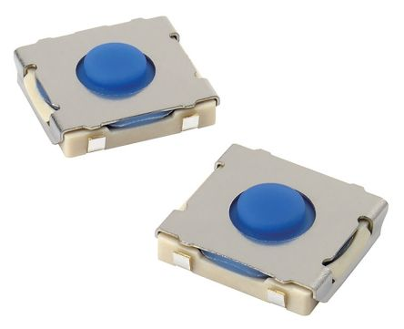 1 Way Surface Mount DIP & SIP Switch SPST-NO, Plunger Actuator, IP67 product photo