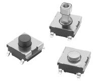 1 Way Surface Mount DIP Switch SPST-NO, Flat Actuator, IP00 product photo