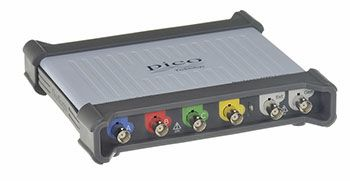 Pico Technology 5000D Series 5444D MSO PC Oscilloscope, Benchtop, 4, 16 Channels, 200MHz