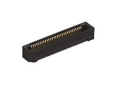 Hirose ER8 Series 0.8mm Pitch 10 Way 2 Row Straight PCB Socket, Surface Mount, Solder Termination